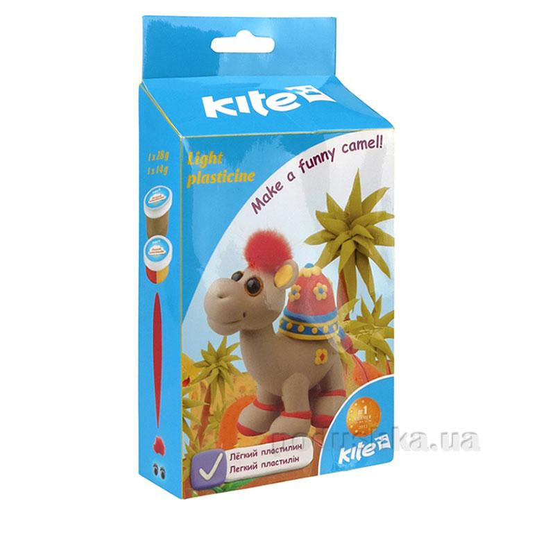 Легкий пластилин Kite Верблюжонок K15-278-4К