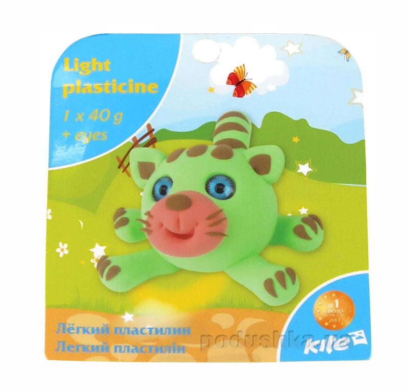 Легкий пластилин с глазками Kite Котик K15-277-3K
