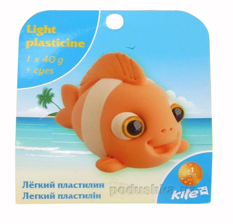 Легкий пластилин с глазками Kite Рыбка K15-277-6К