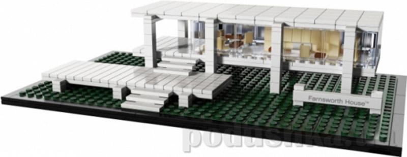 Конструктор Lego Фарнсворт хауз Architecture 21009