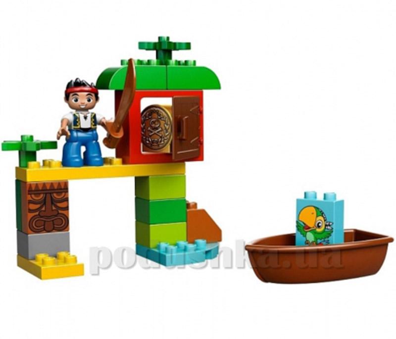 Конструктор Lego Охота за сокровищами Джека Duplo 10512