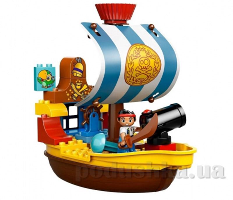 Конструктор Lego Пиратский корабль Джека Duplo 10514