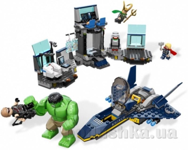 Конструктор Lego Побег Халка Super Heroes 6868