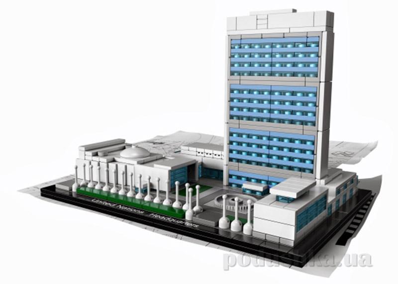 Конструктор Lego Штаб-квартира ООН Architecture 21018