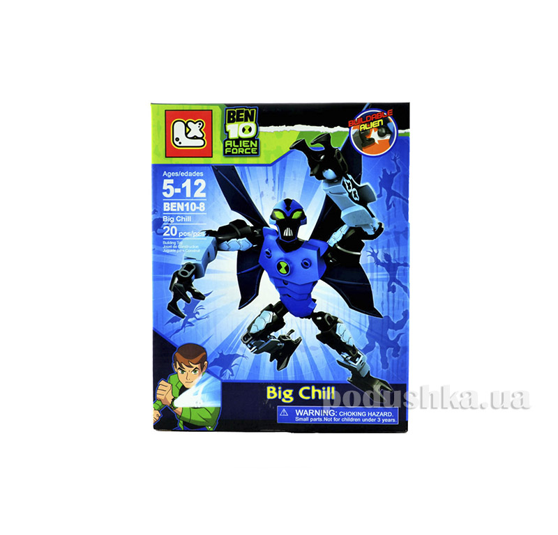 Лего-фигурка Big Chill Alien Force Ben 10 BEN10-8-4