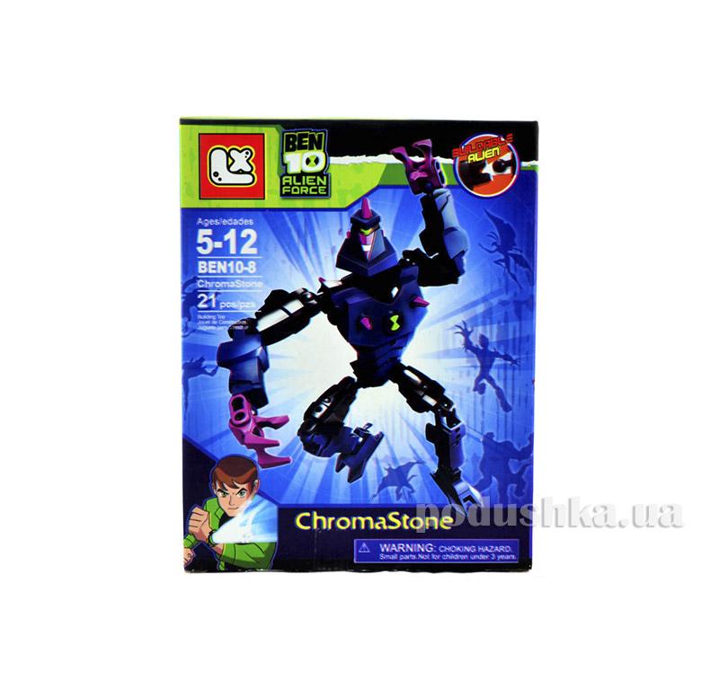 Лего-фигурка ChromaStone Alien Force Ben 10 BEN10-8-5