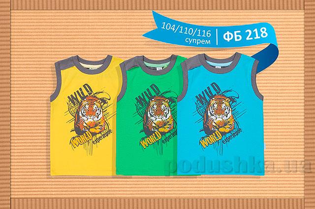 Летняя футболка для мальчика Бемби ФБ218 супрем