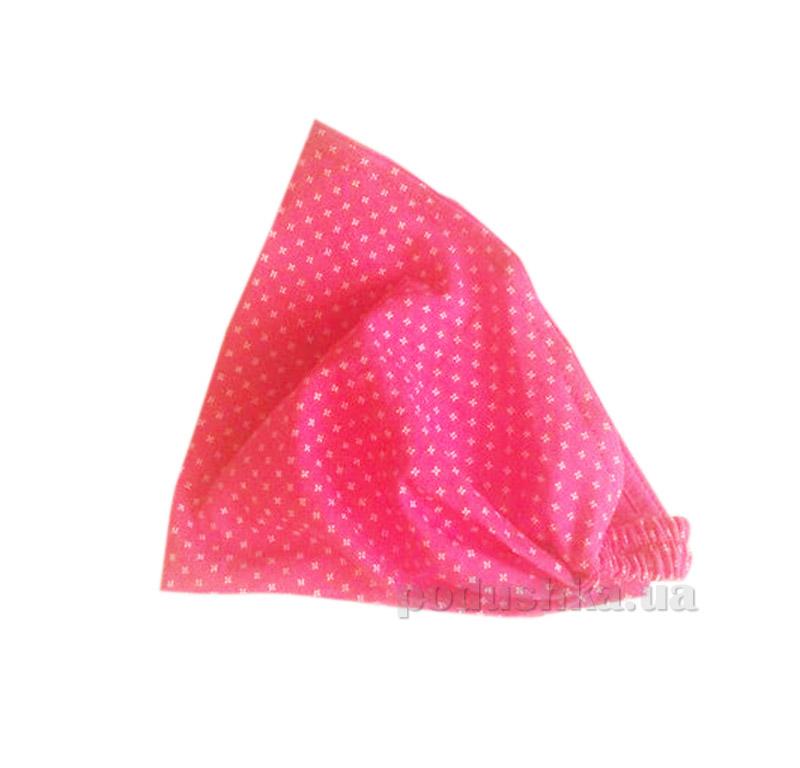 Летняя косынка-повязка для девочки Бемби ГУ67 розовая