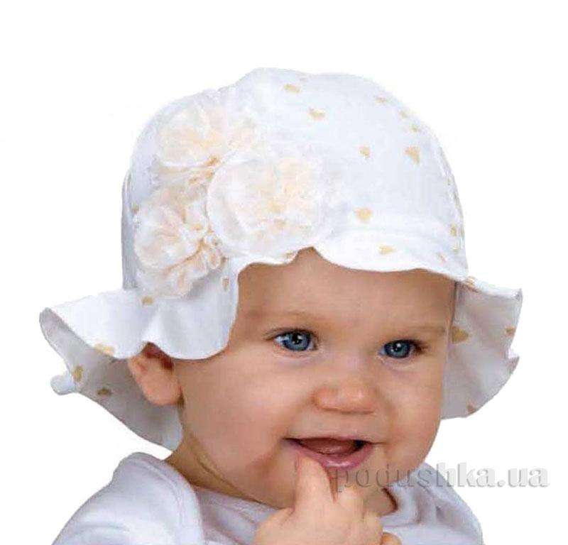 Летняя панамка Pupill Florence белая