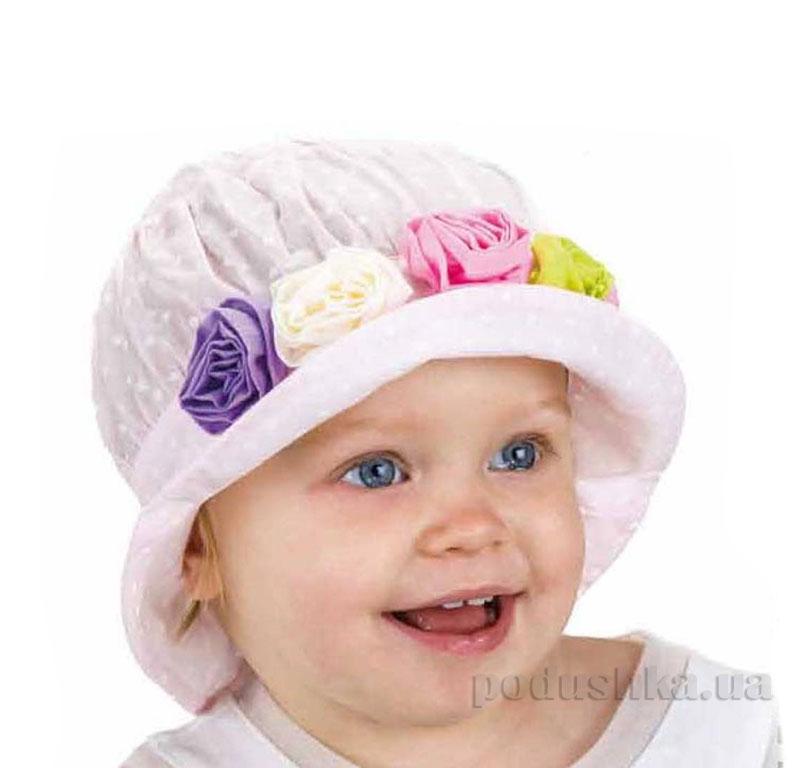 Летняя панамка Pupill Imka светло-розовая