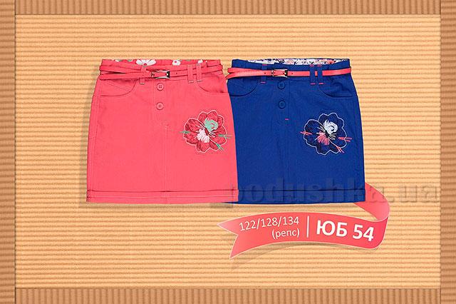 Летняя юбка для девочки Бемби ЮБ54 репс