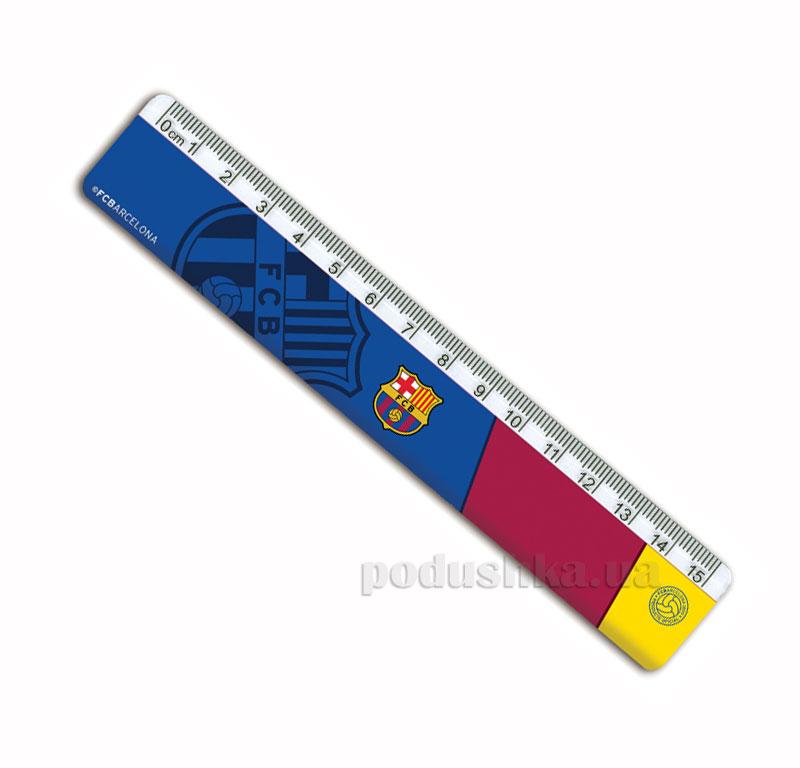 Линейка пластиковая Kite FC Barcelona BC14-090K