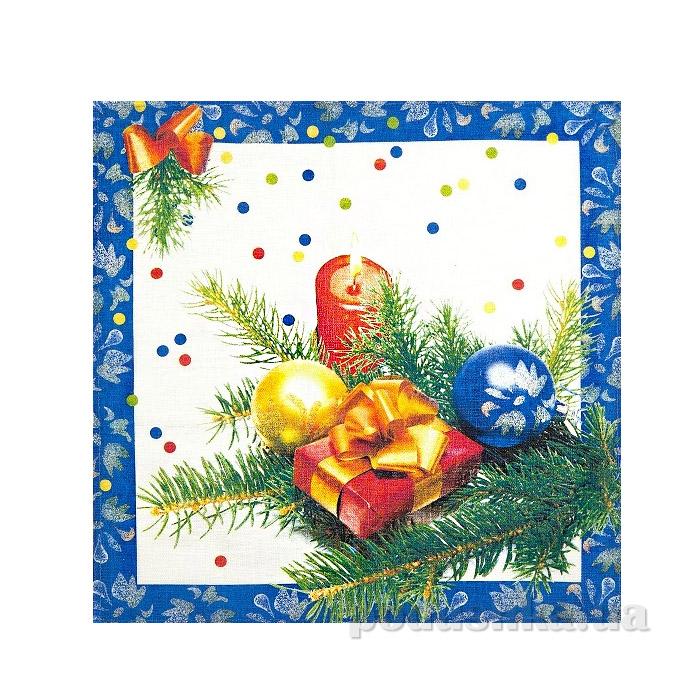 Льняная салфетка 13С285 Подарок Белорусский лен