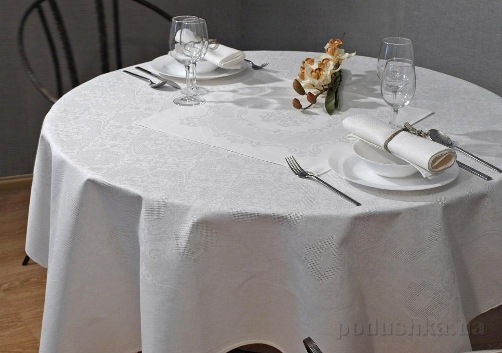 Льняная скатерть с салфетками Марго 10с229-ШР