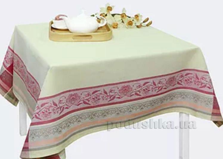 Льняная жаккардовая скатерть Традиция Белорусский лен 16С383 рис.44 ц.-2