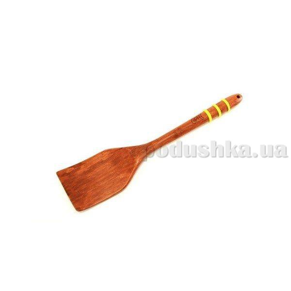 Лопатка для салата Gipfel 30,5х7,0х1,9 см (бамбук, силикон)
