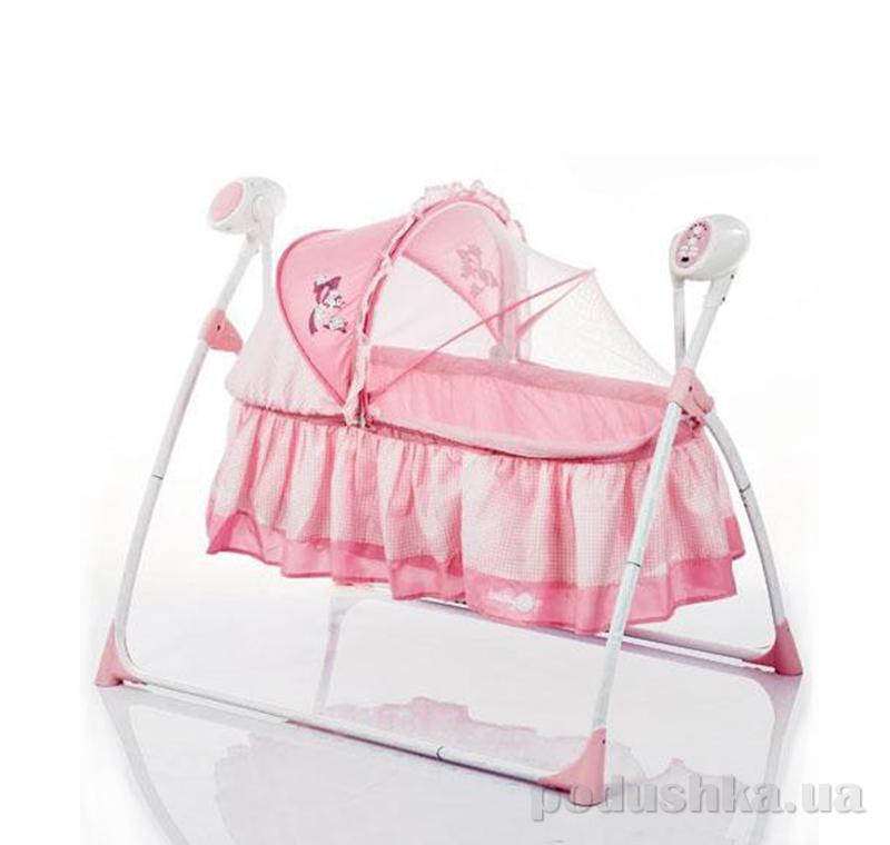 Люлька детская Bambi M 2131-1 Розовая