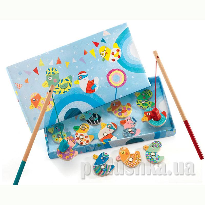Магнитная игра Веселая рыбалка DJ01654 DJECO   DJECO