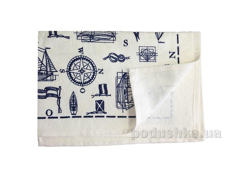 Махровое кухонное полотенце Akipek Морской бриз