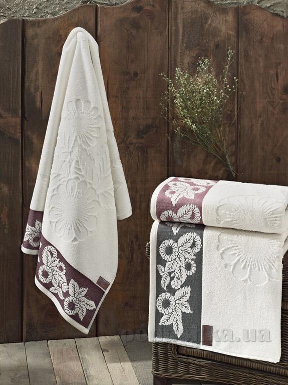 Махровое полотенце Arya Maxi Avica