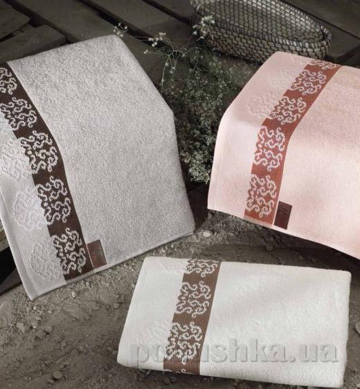 Махровое полотенце Arya Maxi Crest