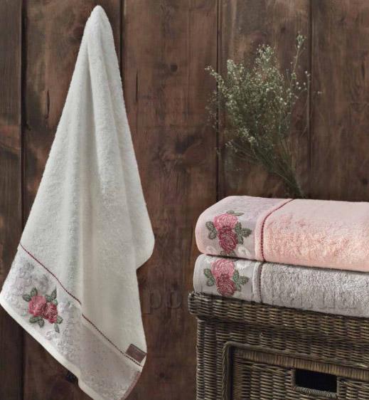 Махровое полотенце Arya Maxi Roset