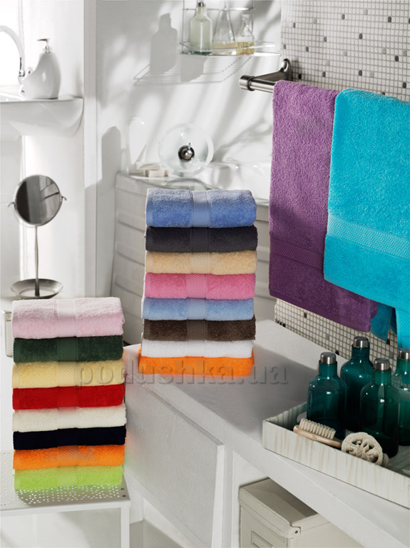 Махровое полотенце Arya Miranda 100х150 см лиловый ARYA