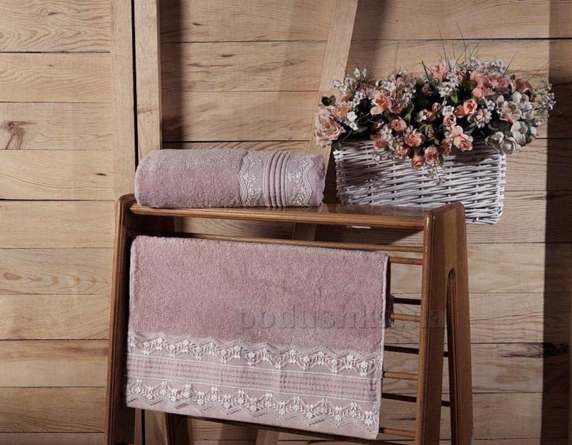 Махровое полотенце Arya Serit