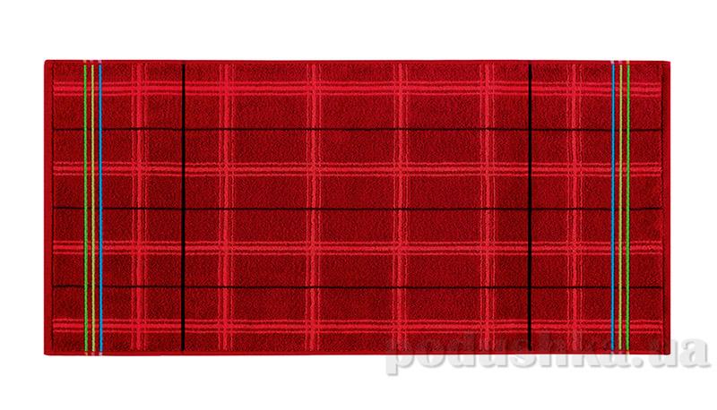 Махровое полотенце Belle-Textile Gordon бордовое