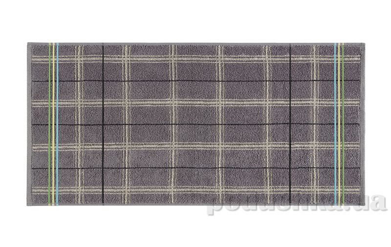 Махровое полотенце Belle-Textile Gordon серое