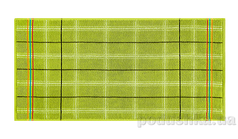 Махровое полотенце Belle-Textile Gordon зеленое