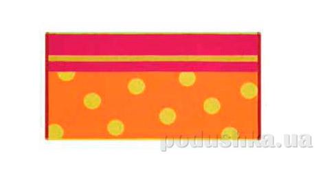 Махровое полотенце Belle-Textile Punkte оранжевое