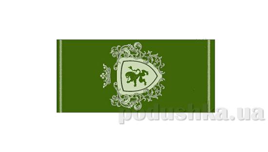 Махровое полотенце Cool Bravery темно-зеленое
