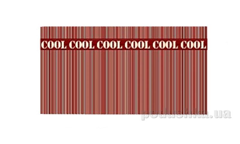 Махровое полотенце Cool Lines мокко