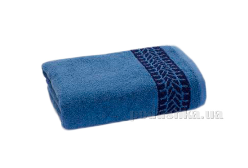 Махровое полотенце Cool синее