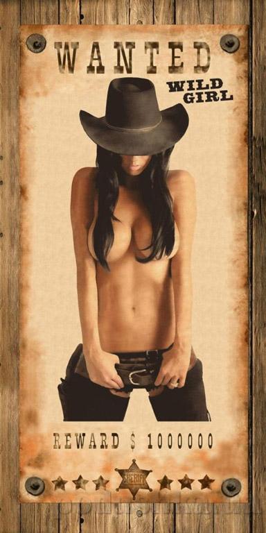 Махровое полотенце Cool Wild girl