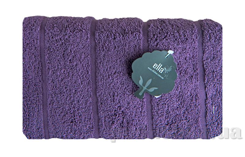 Махровое полотенце Ella Line Urban фиолетовое