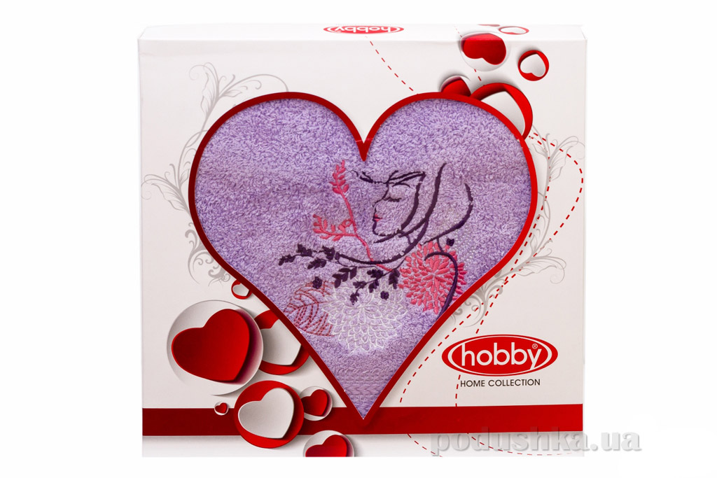 Махровое полотенце Hobby Beauty в подарочной коробке