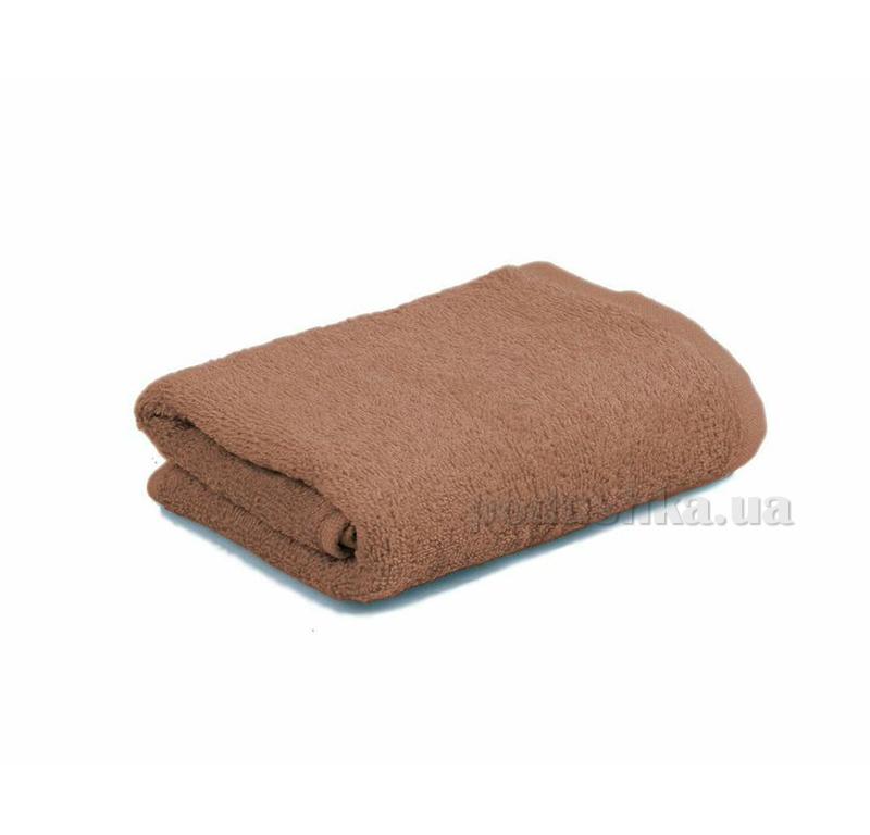 Махровое полотенце Home line 109633 коричневое