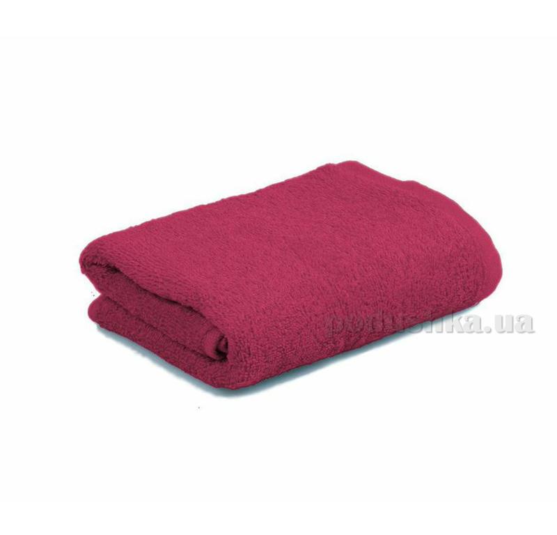 Махровое полотенце Home line 109635 бордовое