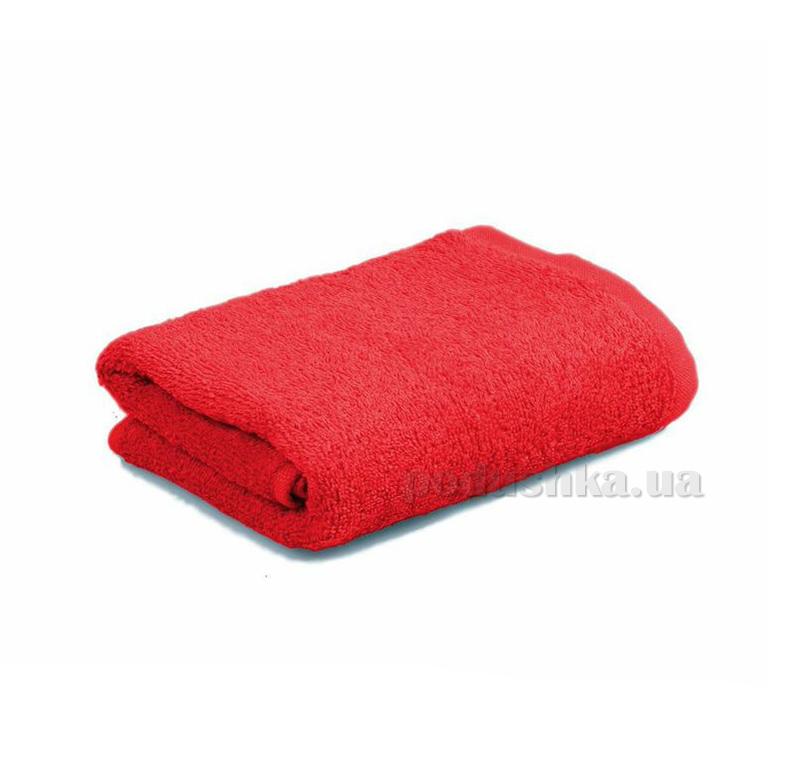 Махровое полотенце Home line 109638 красное