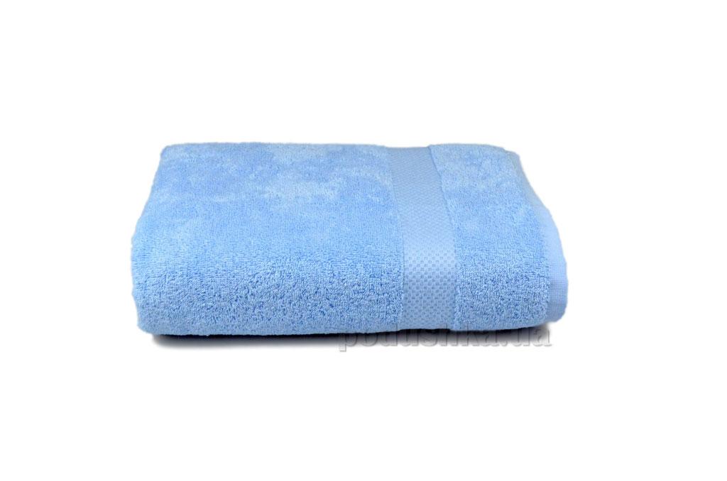 Махровое полотенце Home line Азербайджан голубое