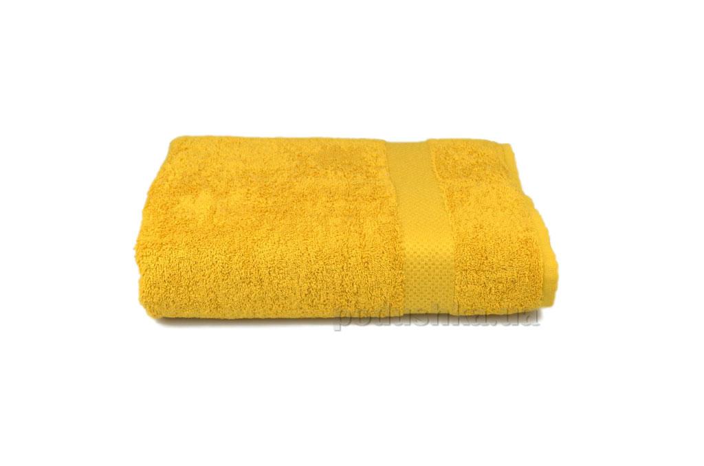 Махровое полотенце Home line Азербайджан горчичное