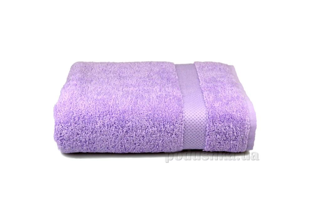 Махровое полотенце Home line Азербайджан светло-сиреневое