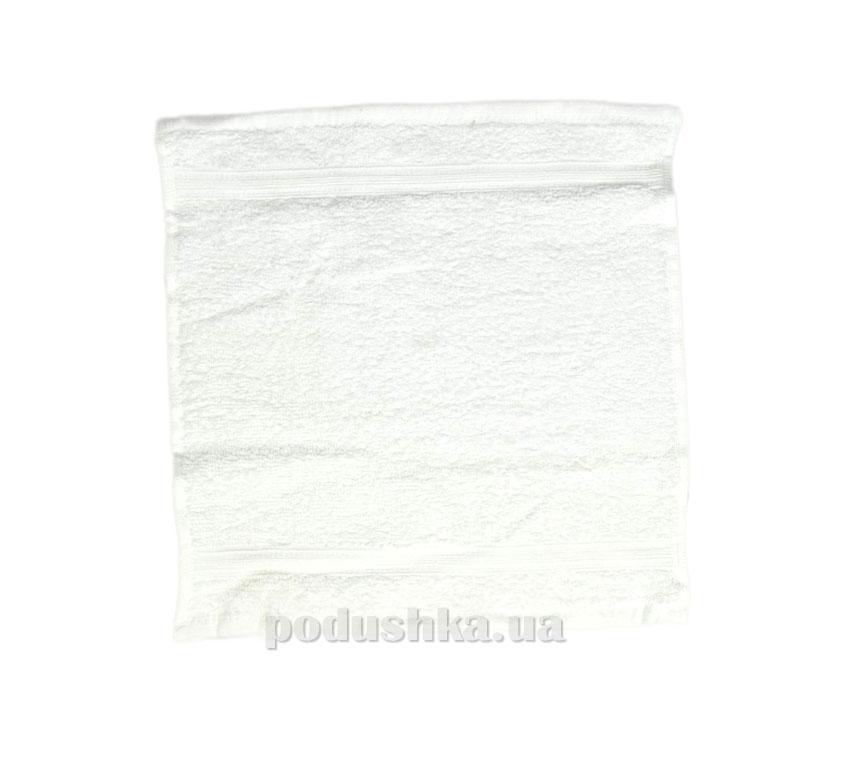 Махровое полотенце Home line Индия белое 30х30 см  Home line