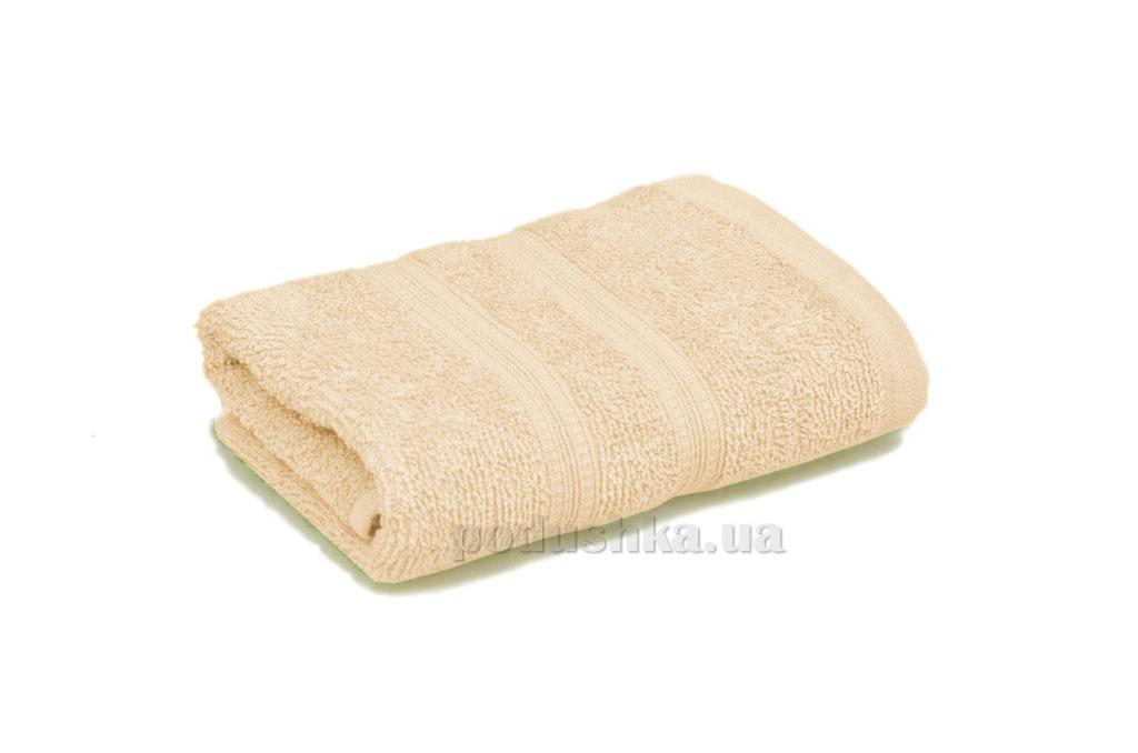 Махровое полотенце Home line Индия кремовое