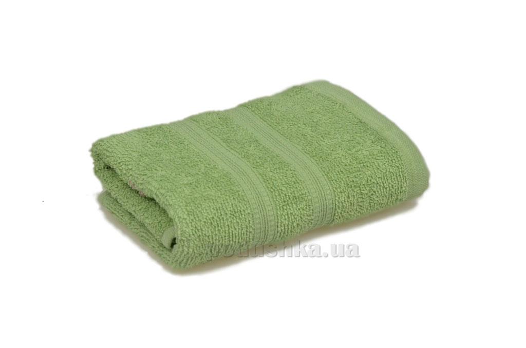 Махровое полотенце Home line Индия оливковое
