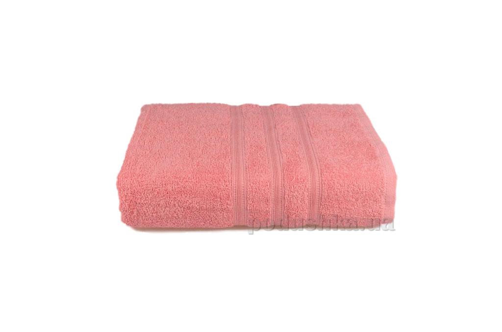 Махровое полотенце Home line Индия розовое