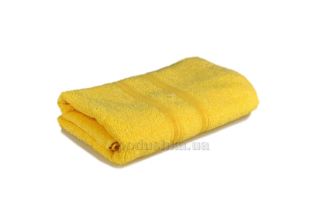 Махровое полотенце Home line Индия светло-желтое