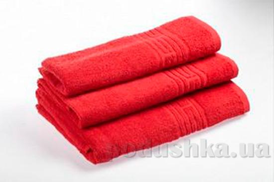 Махровое полотенце Португалия Greek красное